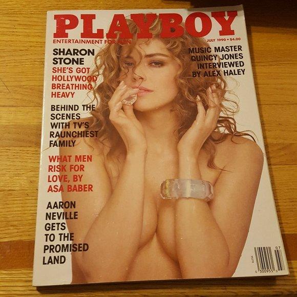 Playboy Magazine Vintage 1990 Sharon Stone